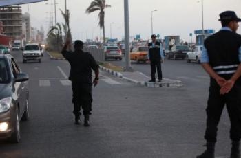 الشرطة بغزة تشرع بتطبيق خطة