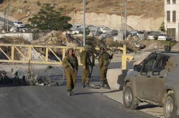 الاحتلال يغلق المدخل الشمالي لمدينة قلقيلية