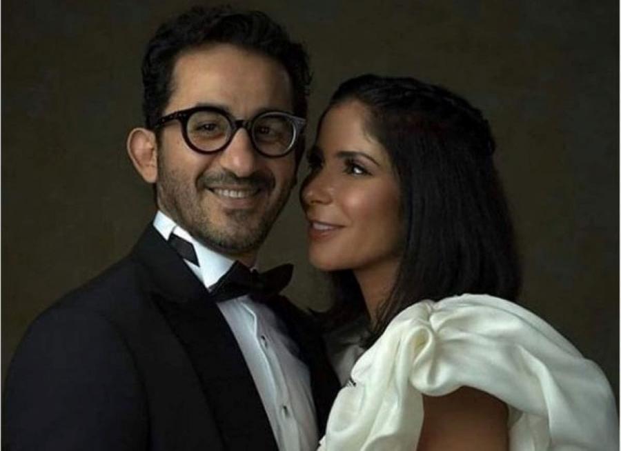 احمد حلمي وزوجته منى زكي