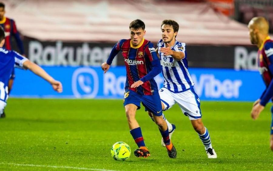 برشلونة يحقق فوز ثمين على المتصدر ريال سوسيداد
