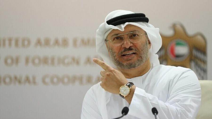 قرقاش: الإمارات شريك أساسي لتركيا في المنطقة