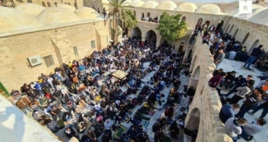 الداخلية: سيتم ملاحقة كل من خرقوا الحظر وخربوا الغرف الفندقية في مقام النبي موسى