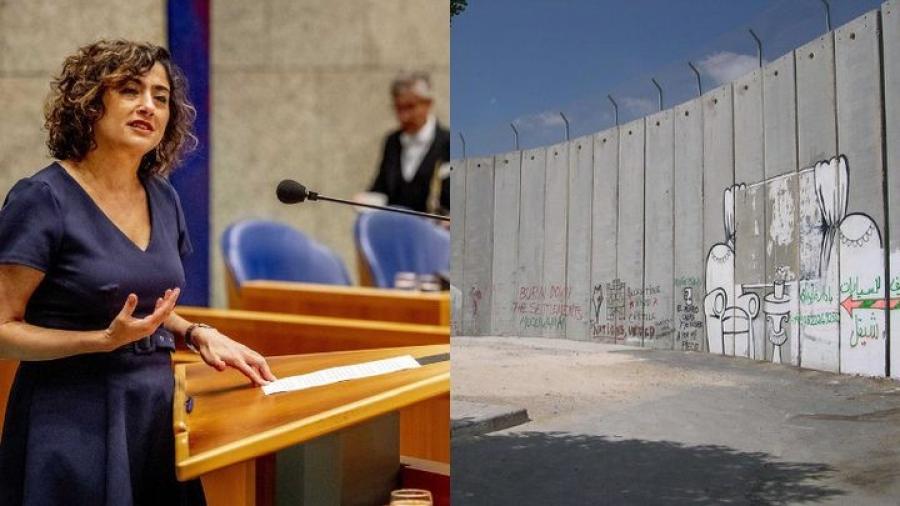 نائب هولندي: أعتز بوقوفي إلى جانب الفلسطينيين بنضالهم