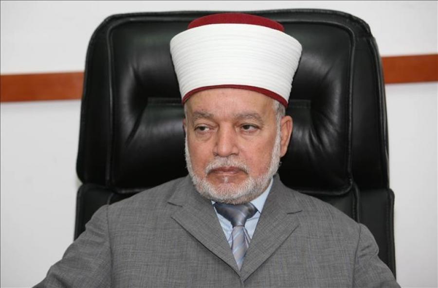 مفتي القدس والديار الفلسطينية يعلن يوم غدا الثلاثاء اول أيام شهر رمضان المبارك