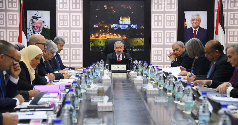 قرارات اجتماع الحكومة الفلسطينية اليوم برئاسة اشتية