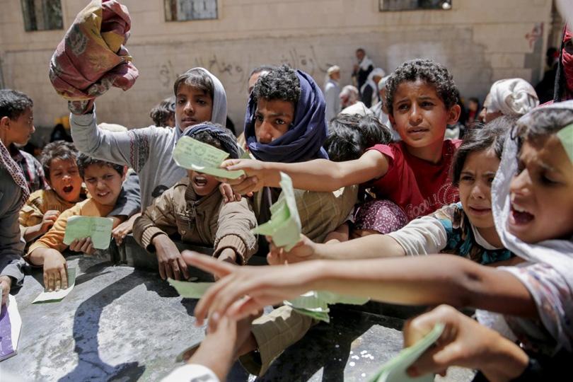 14 مليون على حافة المجاعة في اليمن