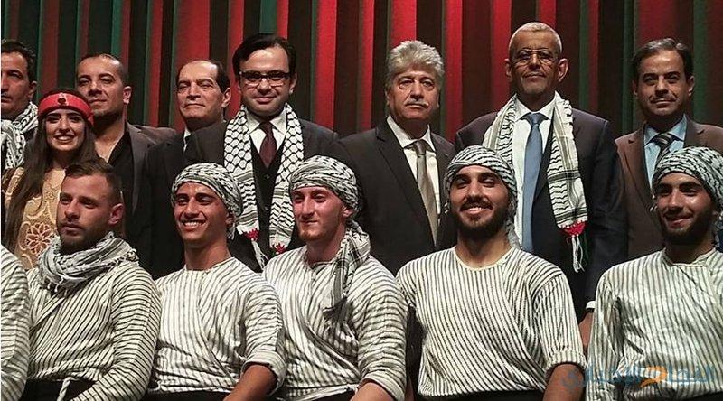 اختتام ايام الثقافة الفلسطينية في روسيا 