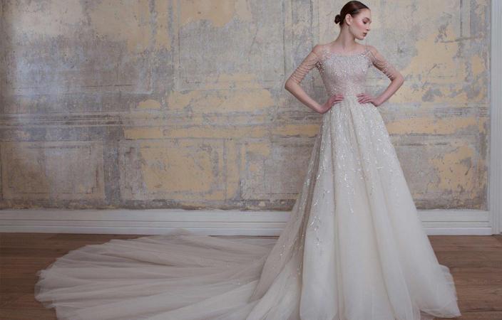 fcb3eeef2 ... 18a961d61f857 فستان زفافك من عالم الأحلام بتوقيع جورج حبيقة - الجديد  الفلسطيني ...