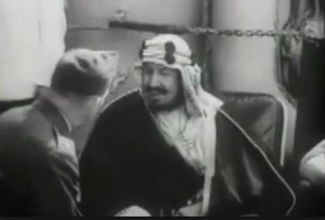 جهز سفينته الحربية بخيمة وأغنام ثم أصابه أكبر فشل.. حينما اعترف روزفلت: بـ5 دقائق تعلمت الكثير من الملك عبدالعزيز