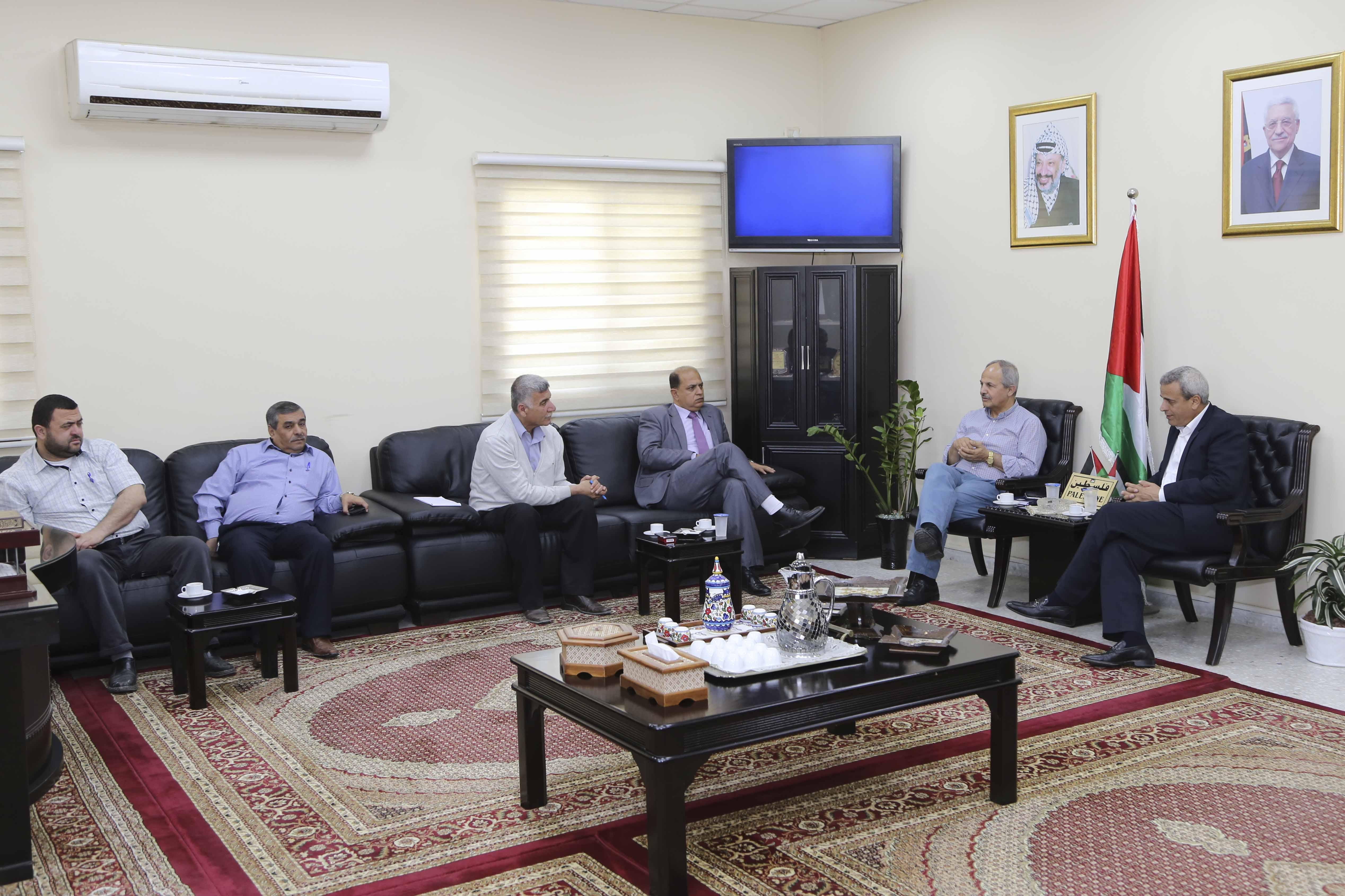 قلقيلية : اجتماع يناقش المخطط الهيكلي للبلديات