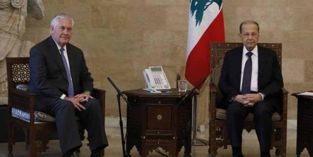 الديار: تيلرسون ذهب متشائماً من بيروت وساترفيلد نقل الجواب اللبناني إلى إسرائيل !