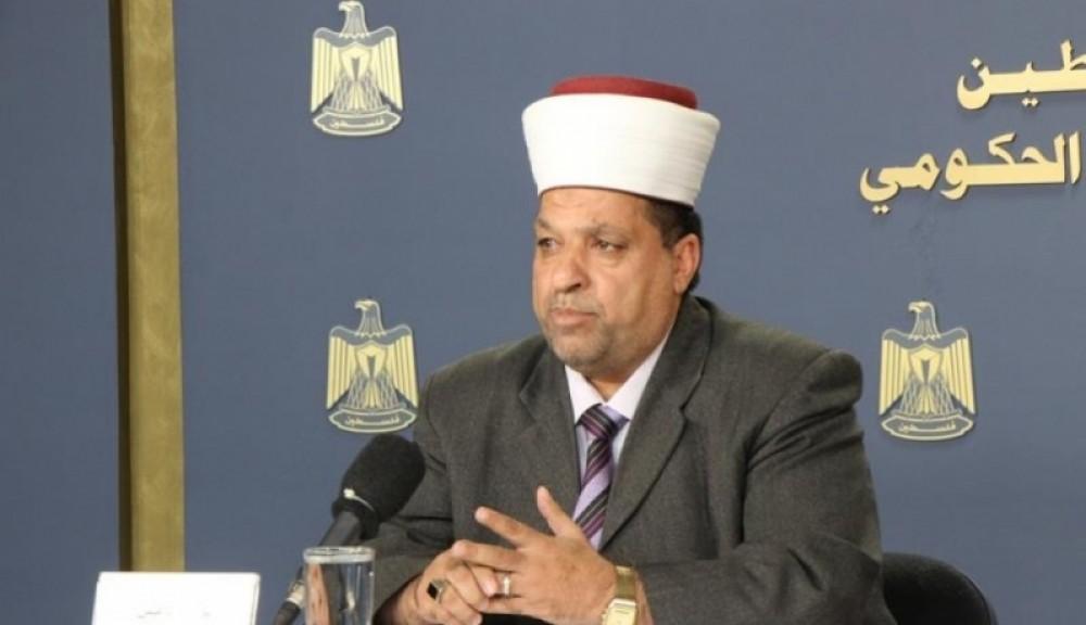 ادعيس: ما يحاول الاحتلال تكريسه في المسجد الابراهيمي من خلال انتهاكاته مرفوض ومدان