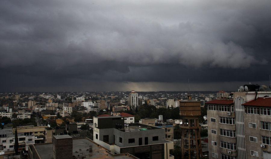 طقس فلسطين اليوم  (أمطار غزيرة قادمة في الضفة وغزة)