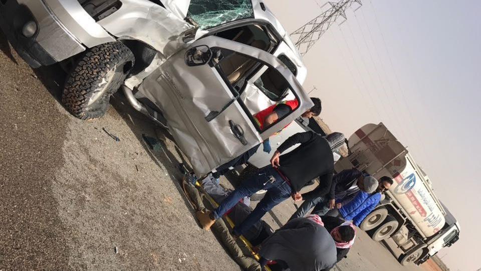 حادث سير يكشف عن جريمة قتل سعودي في الأردن
