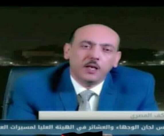المصري يدعو إلى حوار وطني شامل برعاية وضمانات مصرية